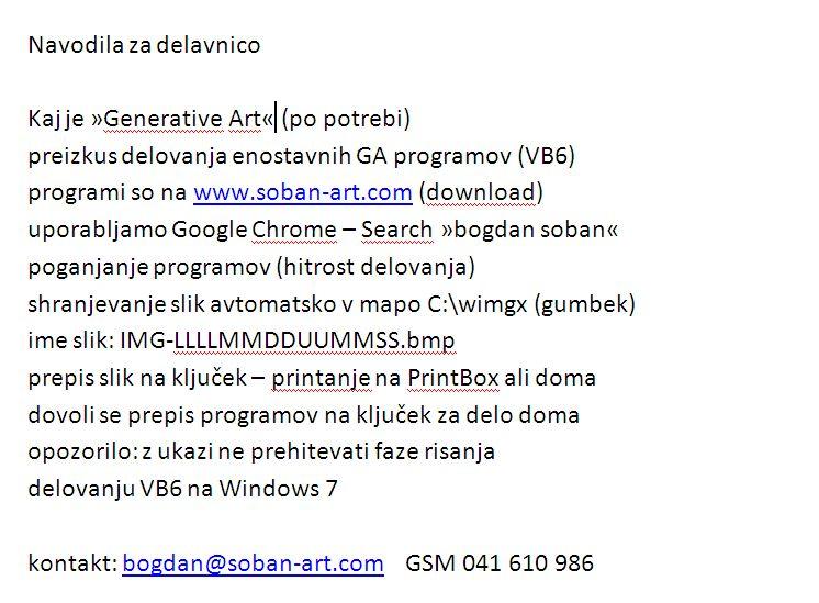 Generative Art Programs - free download
